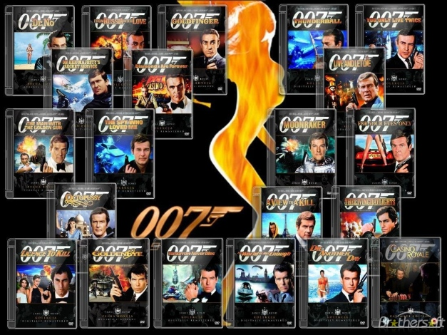 Who's up for a Bond marathon?