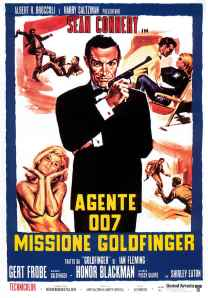 Goldfinger. In Italian of course.