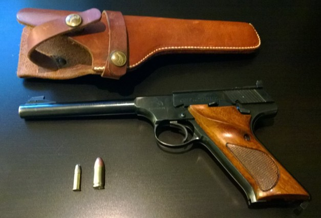 The 1963 Colt .22. A gift to Dan from his father.