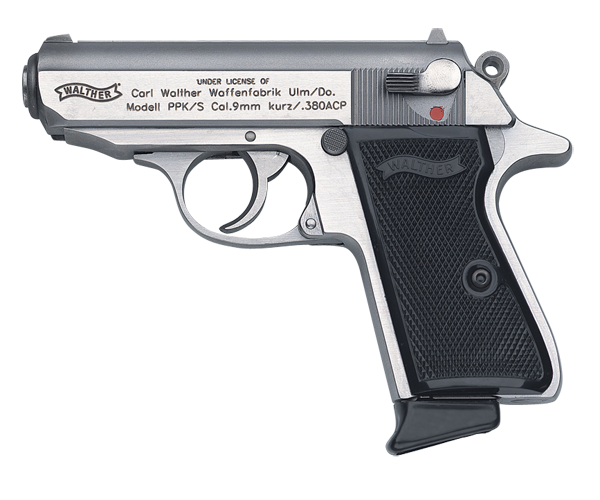 The German made Walther PPK